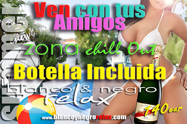 Promoción Chill Out Botella
