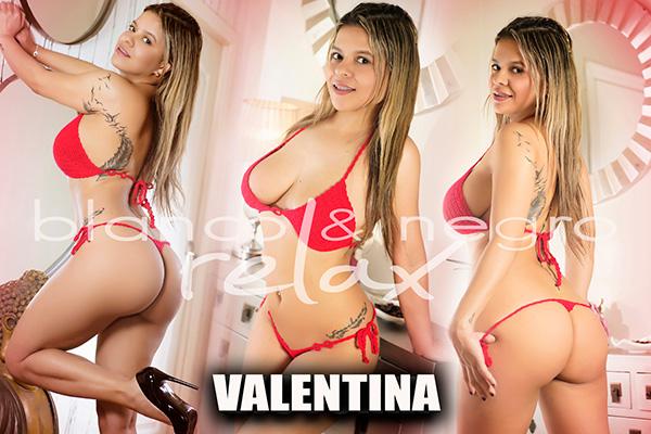 presentacion Rubia Valentina Sexy