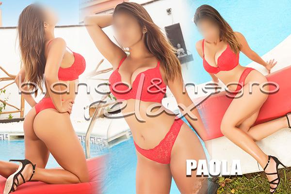 presentacion Paola Bikini Rojo
